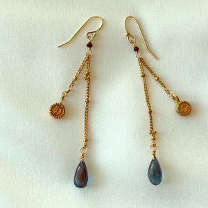 SATYA Sun & Moon Earrings